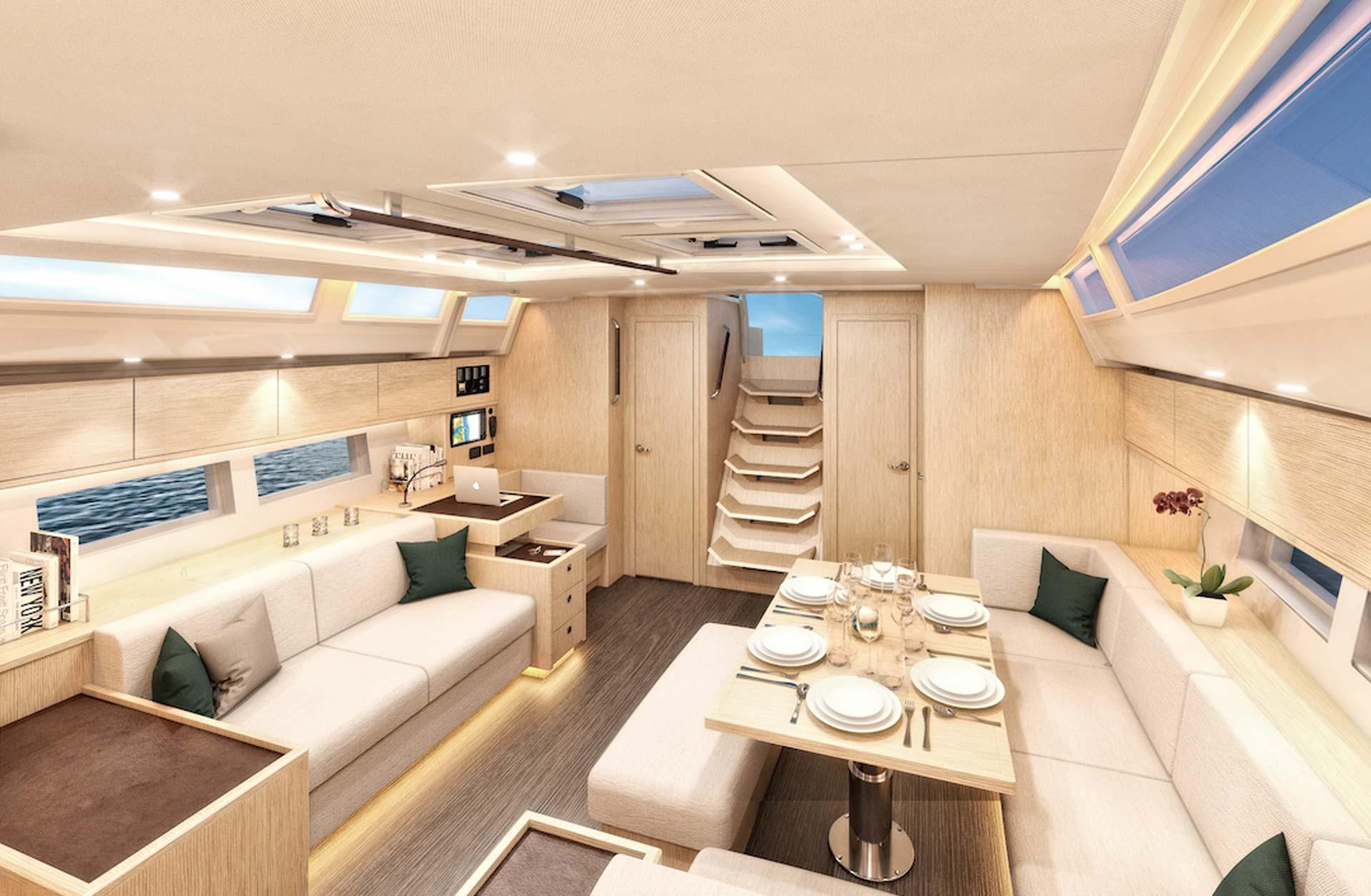 2018 C57 Boats for Sale - Interior