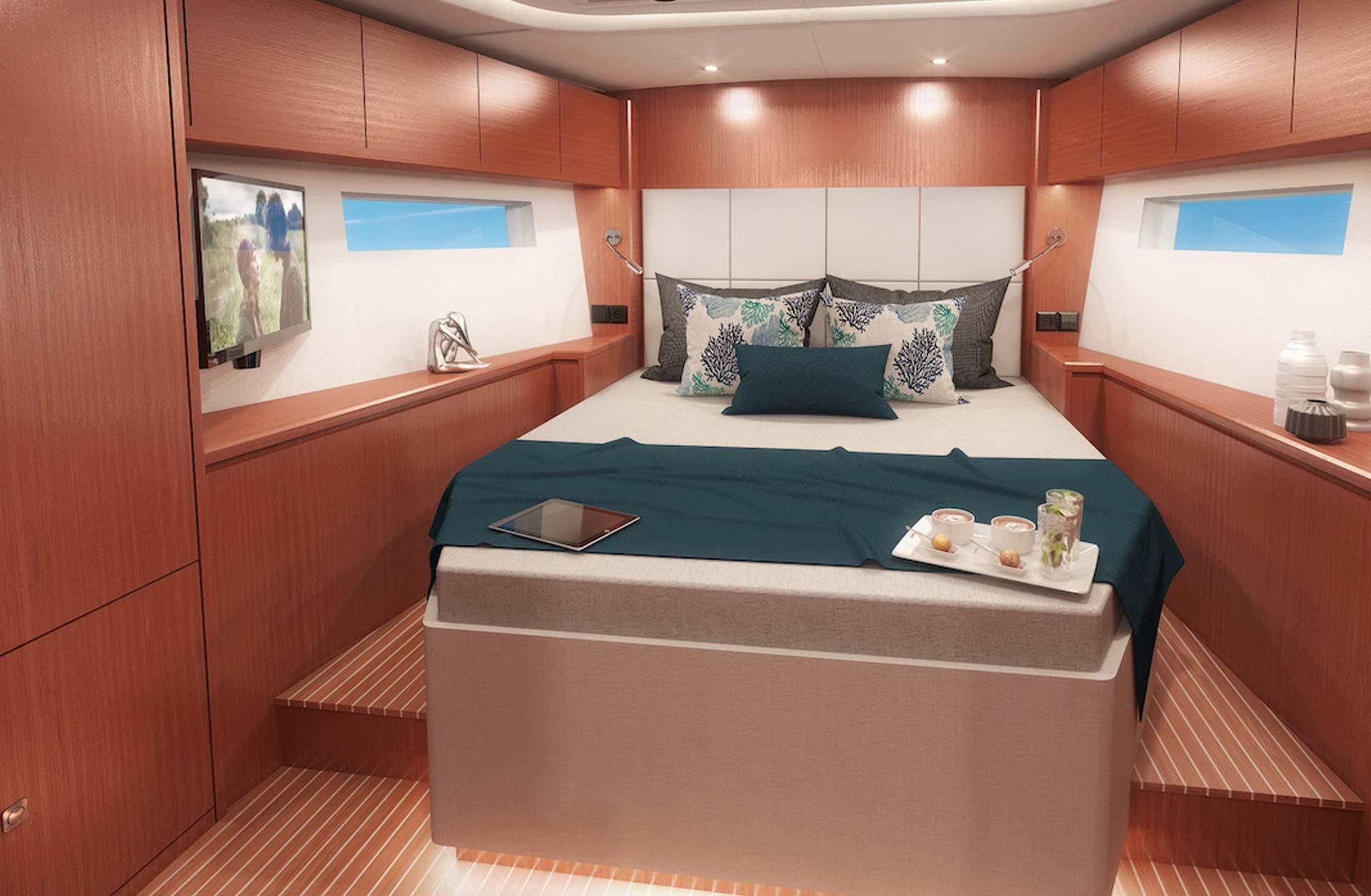 Bavaria C57 Boat Style - Interior