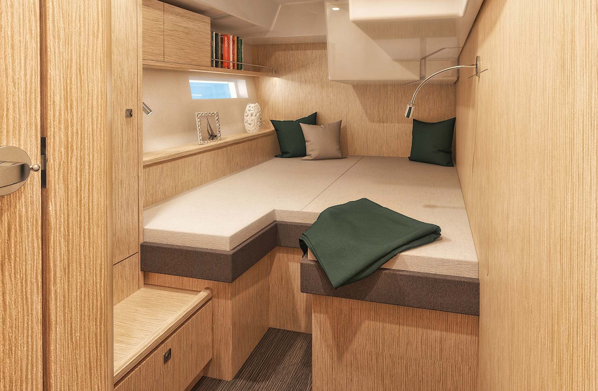 Used Bavaria C57 Boats for Sale - Interior