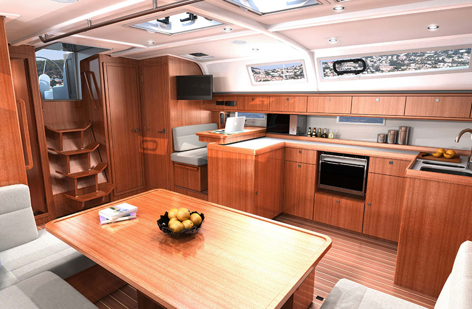 New 2018 Bavaria Cruiser 51 - Interior