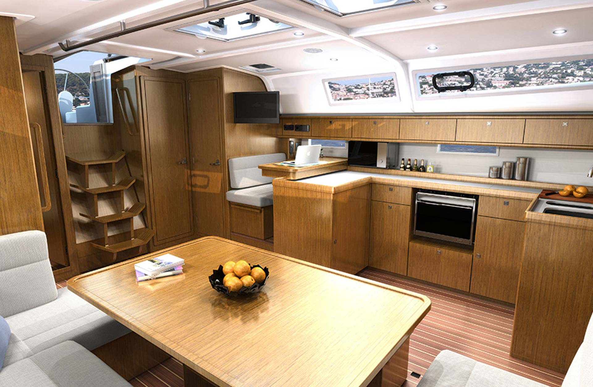 Bavaria Cruiser 51 Boats - Interior