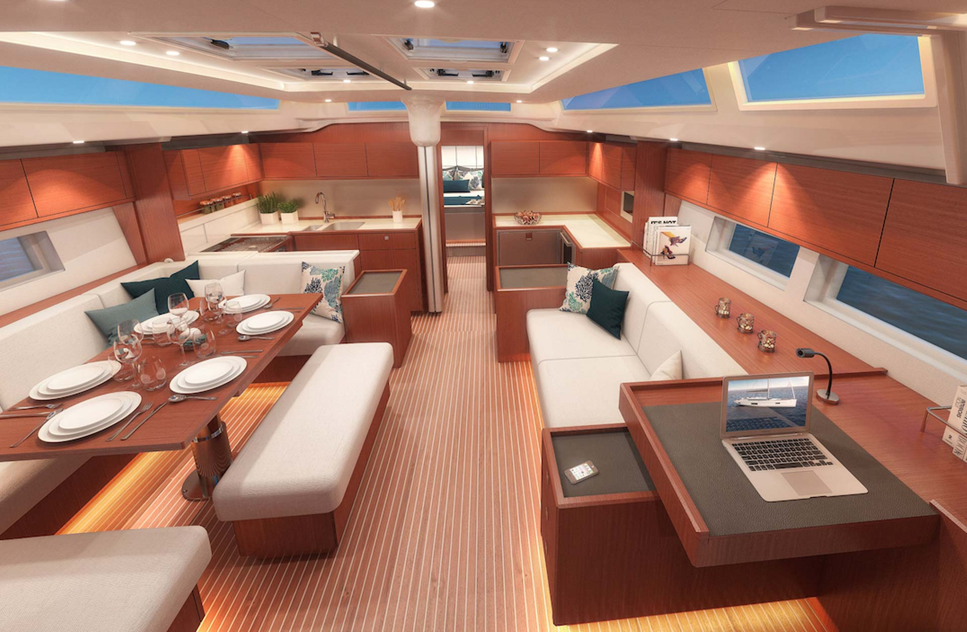 Used C57 Boats for Sale - Interior