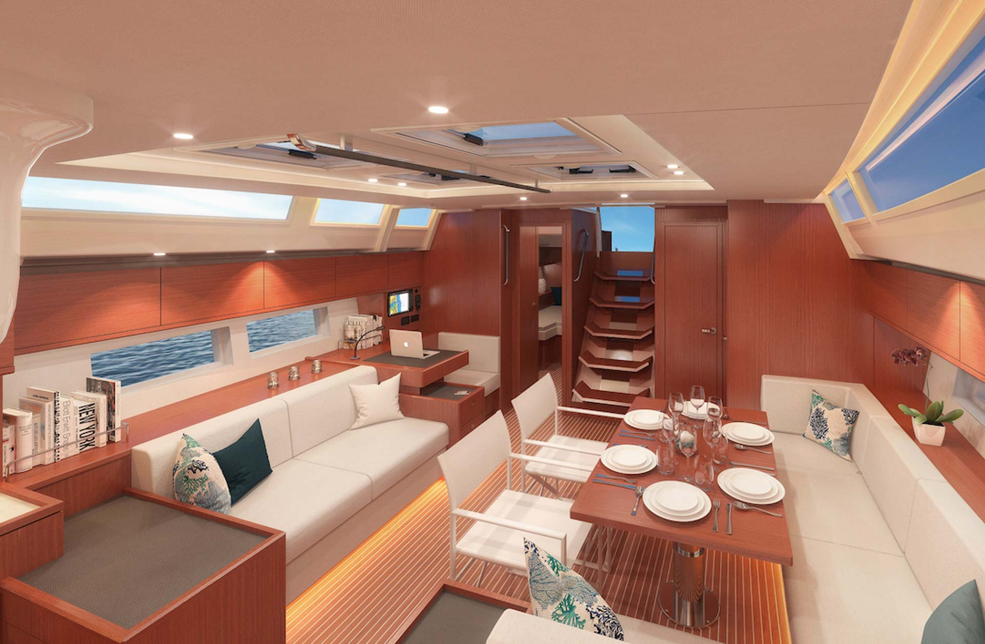 Bavaria C57 Boats for Sale in USA - Interior