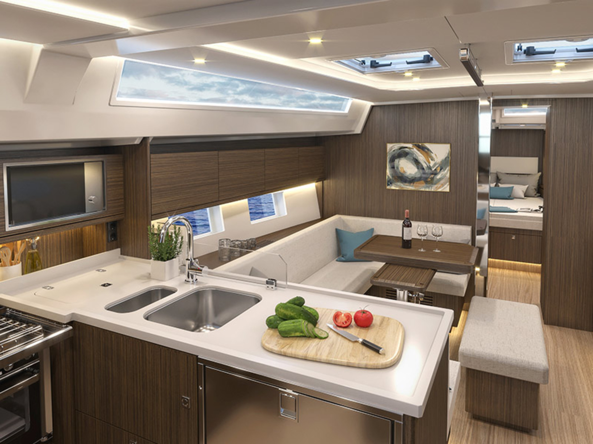Bavaria C45 Ambition C45 int 5