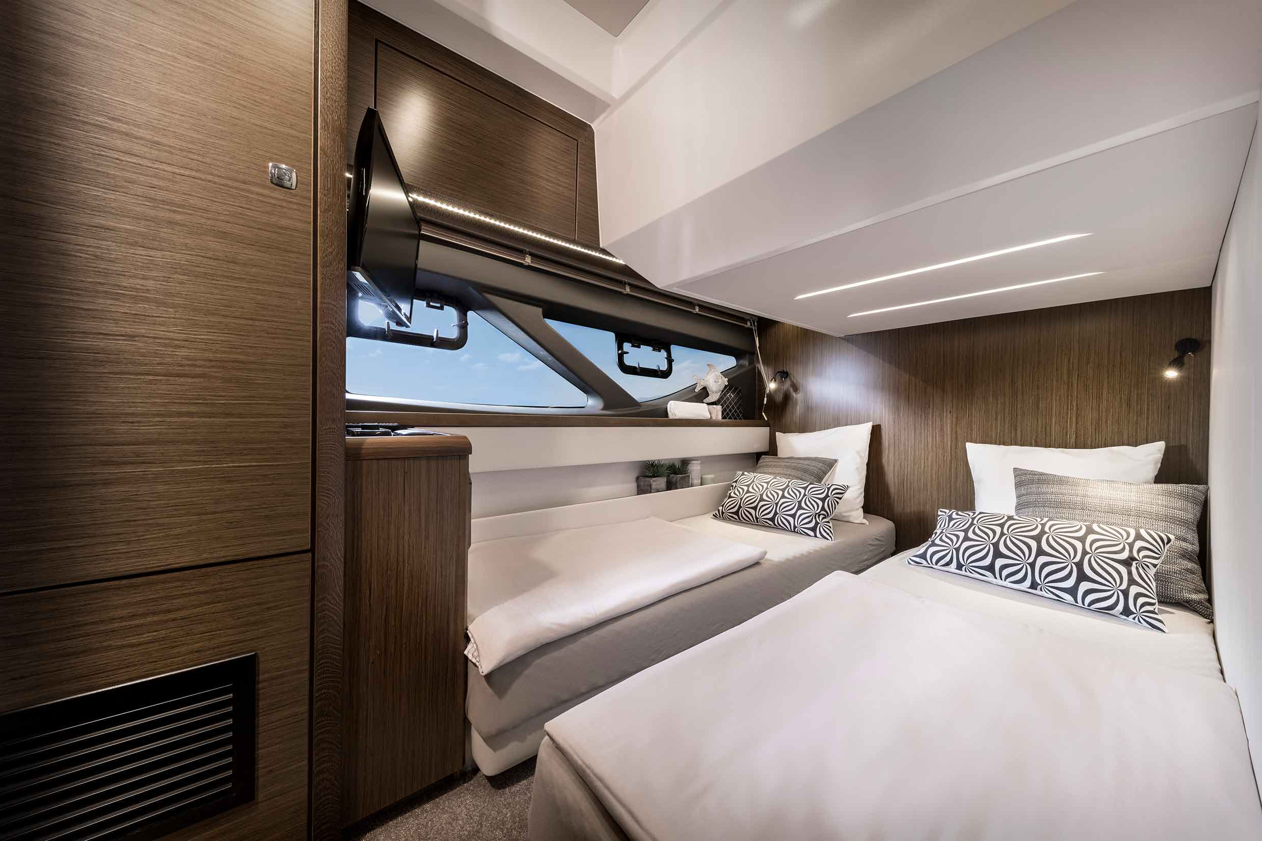 Bavaria R55 bedroom