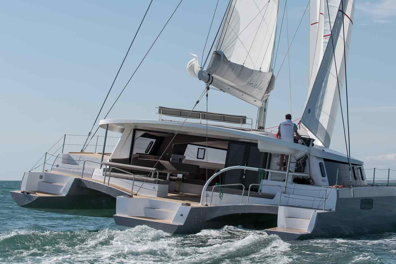 sailing trimarans