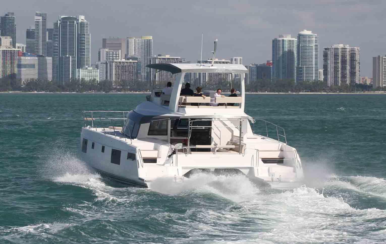 nautitech 47 powercat Catamaran
